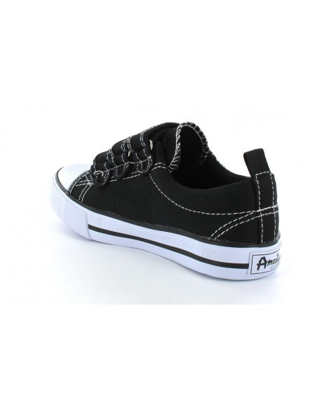 AMERICAN CLUB Children's Trainers LH2119-BK