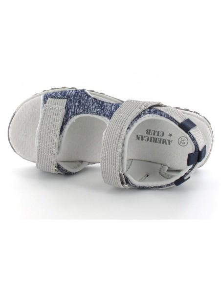 AMERICAN CLUB Children's Sandals RL2520-NGR