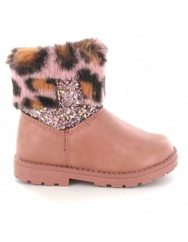 AMERICAN CLUB Children's Calf Snow Boots GC4519-P