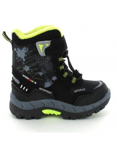 AMERICAN CLUB Children's Snow Boots HL4420-BKL